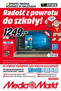 Gazetka promocyjna Saturn, ważna od 16.08.2018 do 20.08.2018.
