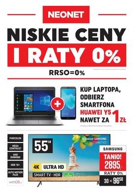 Gazetka promocyjna Neonet - Niskie ceny i raty 0%