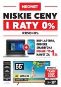 Gazetka promocyjna Neonet - Niskie ceny i raty 0% - ważna do 05-09-2018