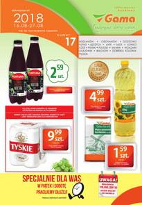 Gazetka promocyjna Gama, ważna od 16.08.2018 do 27.08.2018.