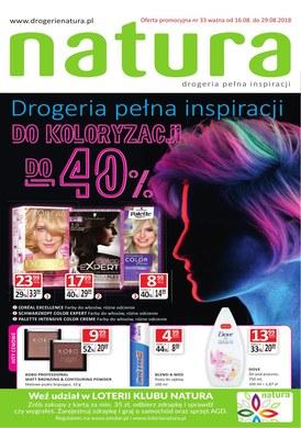 Gazetka promocyjna Drogerie Natura - Drogeria pełna inspiracji do koloryzacji