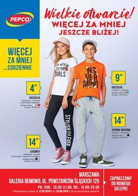 Gazetka promocyjna Pepco - Wielkie otwarcie - Warszawa