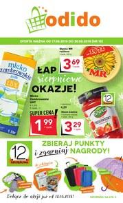 Gazetka promocyjna Odido, ważna od 17.08.2018 do 30.08.2018.