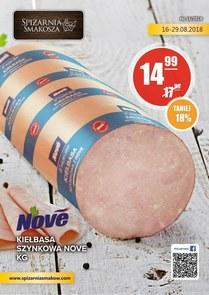 Gazetka promocyjna Spiżarnia Smakosza, ważna od 16.08.2018 do 29.08.2018.