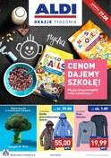 Gazetka promocyjna Aldi - Cenom dajemy szkołę! - ważna do 02-09-2018