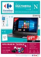 Gazetka promocyjna Carrefour - Technologia w domu i szkole