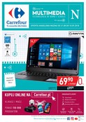Gazetka promocyjna Carrefour - Technologia w domu i szkole - ważna do 10-09-2018