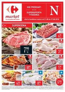 Gazetka promocyjna Carrefour Market, ważna od 21.08.2018 do 27.08.2018.