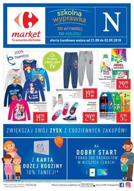 Gazetka promocyjna Carrefour Market - Szkolna wyprawka do wyboru, do koloru