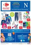 Gazetka promocyjna Carrefour Market - Szkolna wyprawka do wyboru, do koloru - ważna do 02-09-2018