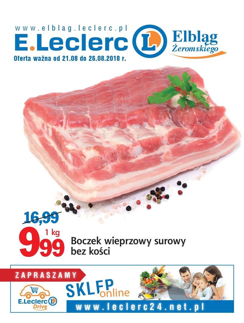 E.Leclerc: 12 gazetki