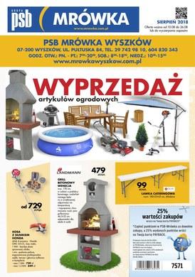 Gazetka promocyjna PSB Mrówka - Oferta handlowa - Wyszków