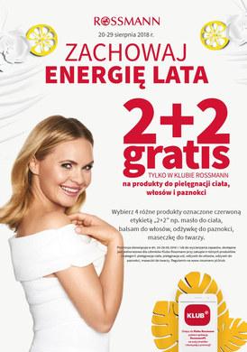 Gazetka promocyjna Rossmann - Zachowaj energię lata