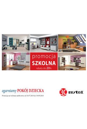 Gazetka promocyjna Restol, ważna od 16.07.2018 do 30.09.2018.