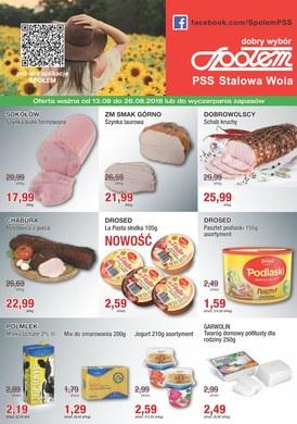 Gazetka promocyjna PSS Stalowa Wola - Oferta handlowa