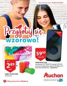 Gazetka promocyjna Auchan, ważna od 23.08.2018 do 04.09.2018.