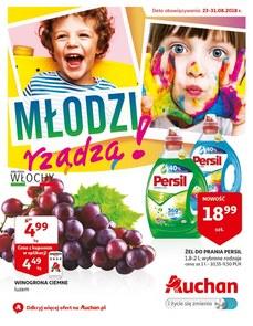 Gazetka promocyjna Auchan, ważna od 23.08.2018 do 31.08.2018.