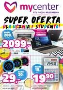 Gazetka promocyjna MyCenter - Super oferta dla ucznia i studenta!