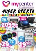 Gazetka promocyjna MyCenter - Super oferta dla ucznia i studenta! - ważna do 12-09-2018