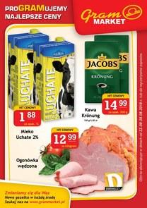 Gazetka promocyjna Gram Market, ważna od 22.08.2018 do 28.08.2018.