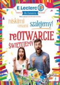 Gazetka promocyjna E.Leclerc - Niskimi cenami szalejemy! - Zamość - ważna do 02-09-2018