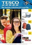 Gazetka promocyjna Tesco Hipermarket - Na każdą szkolną przygodę - ważna do 12-09-2018