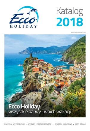 Gazetka promocyjna Ecco Holiday, ważna od 01.01.2018 do 31.12.2018.