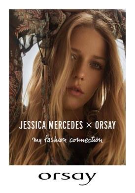 Gazetka promocyjna Orsay - Jessica Mercedes x Orsay