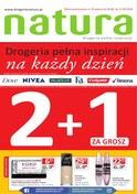 Gazetka promocyjna Drogerie Natura - Drogeria na każdy dzień - ważna do 12-09-2018