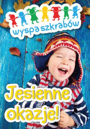 Gazetka promocyjna Wyspa szkrabów, ważna od 30.08.2018 do 28.09.2018.