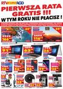 Gazetka promocyjna RTV EURO AGD - Pierwsza rata gratis!!! - ważna do 01-10-2018