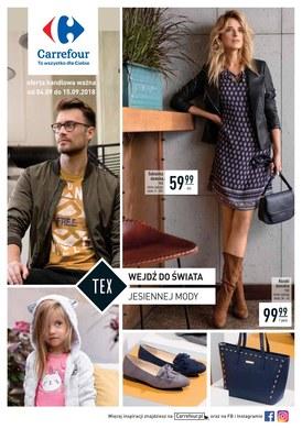 Gazetka promocyjna Carrefour - Wejdź do świata mody