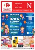 Gazetka promocyjna Carrefour Market - Dzień sąsiada - ważna do 15-09-2018