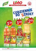 Gazetka promocyjna Livio - Codziennie do szkoły  - ważna do 16-09-2018