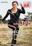 Gazetka promocyjna KIK - Więcej mody sportowej  - ważna do 19-09-2018