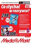 Gazetka promocyjna Media Markt - Co słychać w rozrywce? - ważna do 30-09-2018