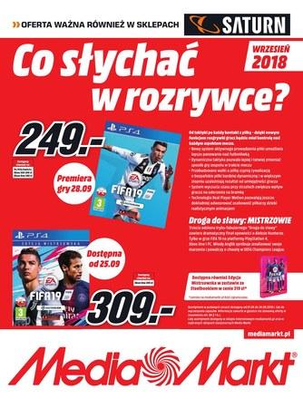 Gazetka promocyjna Saturn, ważna od 01.09.2018 do 30.09.2018.