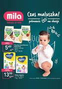 Gazetka promocyjna MILA - Czas maluszka! - ważna do 11-09-2018