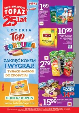 Gazetka promocyjna Topaz - Top fortuna