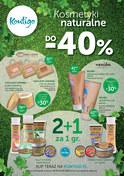 Gazetka promocyjna Kontigo - Kosmetyki naturalne do -40% - ważna do 16-09-2018