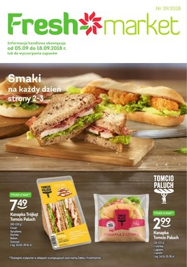 Gazetka promocyjna Freshmarket - Smaki na każdy dzień