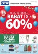 Gazetka promocyjna Jysk - Rabat do 60% - ważna do 19-09-2018