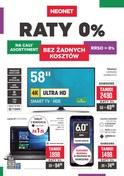 Gazetka promocyjna Neonet - Raty 0% - ważna do 19-09-2018