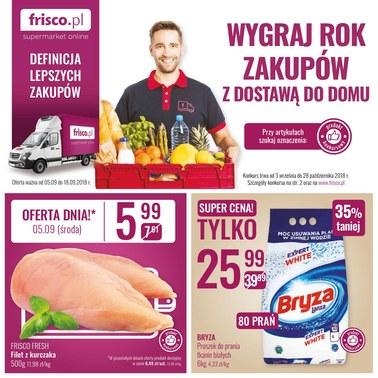 Gazetka promocyjna Frisco, ważna od 03.09.2018 do 28.10.2018.