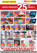 Gazetka promocyjna RTV EURO AGD - Drugi produkt 25% taniej - ważna do 11-09-2018