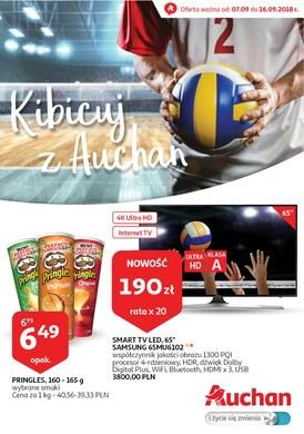 Gazetka promocyjna Auchan - Kibicuj z Auchan