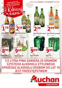 Gazetka promocyjna Auchan - Kibicuj z nami - ważna do 16-09-2018