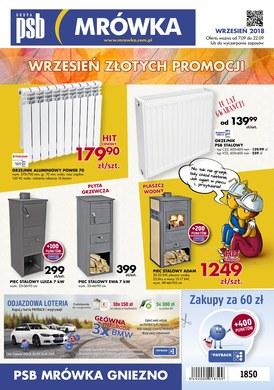 Gazetka promocyjna PSB Mrówka - Wrzesień złotych promocji - Gniezno