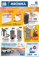 Gazetka promocyjna PSB Mrówka - Wrzesień złotych promocji