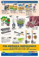 Gazetka promocyjna PSB Mrówka - Wrzesień złotych promocji - Niepołomice